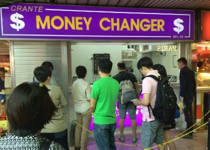Crante Money Changer People's Park Complex
