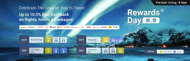 9.9 Rewards Day - Smarter Way to Travel