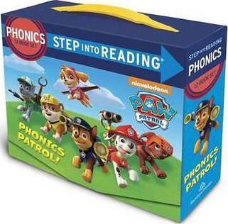 Paw Patrol Phonics Box Set by Jennifer Liberts
