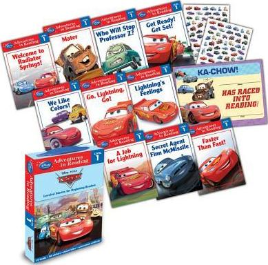 Reading Adventures Cars Level 1 Boxed Set by Disney Book Group