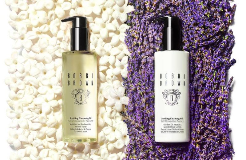 Bobbi Brown cleaning oil and milk