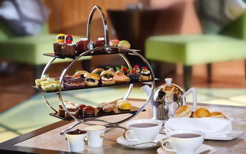 The Fullerton's latest afternoon tea set inspired by the Grand Prix