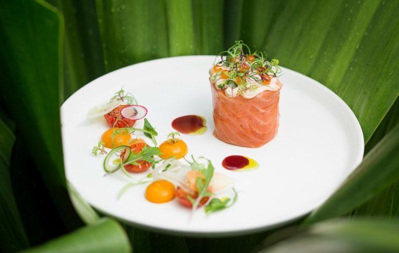 Scottish Salmon Fillet served at Tangerine