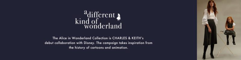 Charles and keith alice in wonderland disney collection
