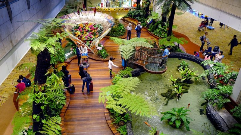 Enchanted Garden in Changi Airport