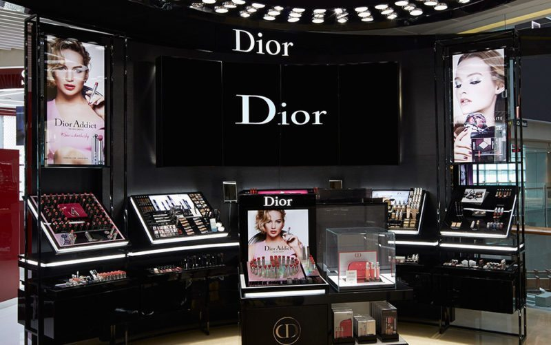 Dior Makeup House at Shilla Duty Free, Changi Airport Terminal 3