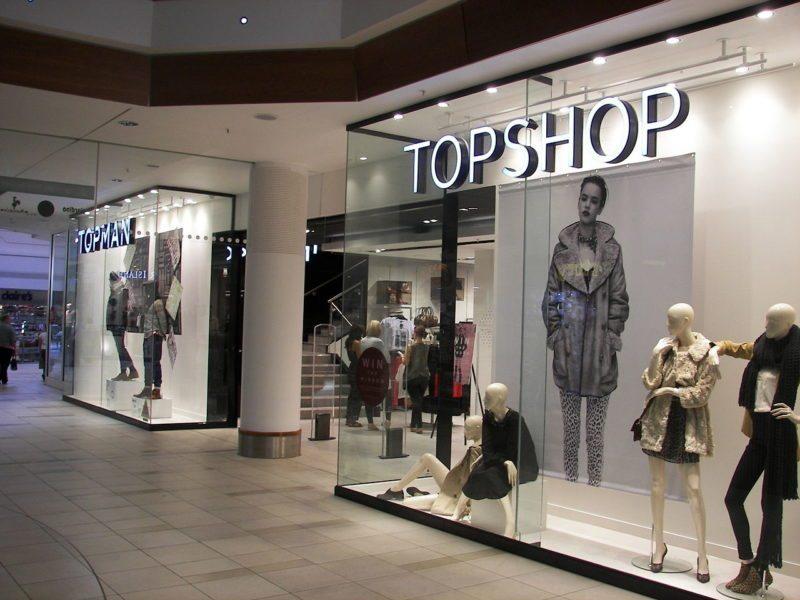 topshop offline store