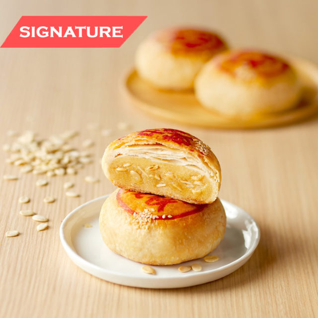 10. Thye Moh Chan - Sweet Tau Sar with Melon Seeds Mooncakes