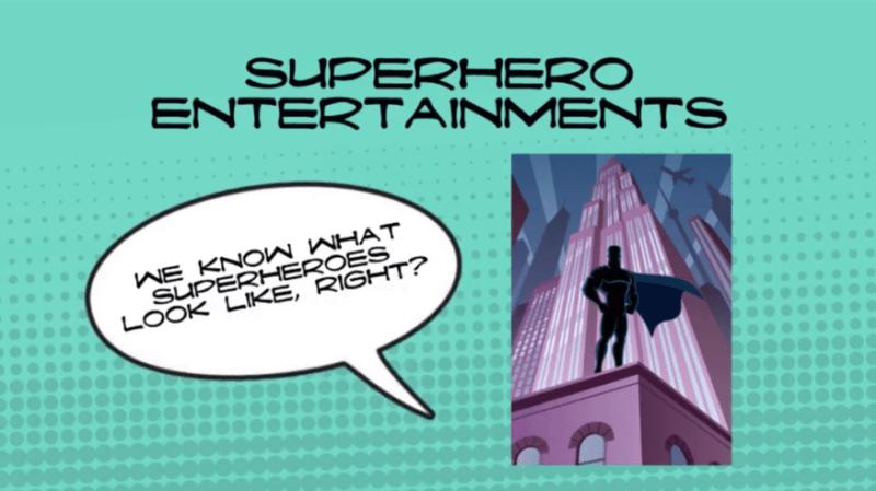 Superhero Entertainment Online Course