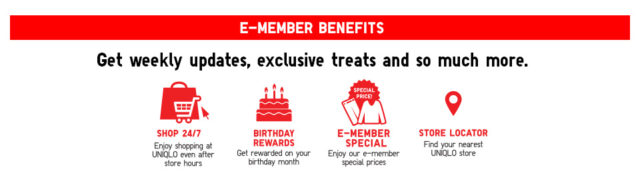 how to use uniqlo membership