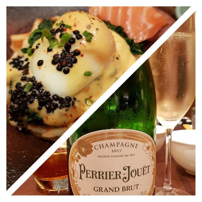 mezza9 Champagne Brunch Grand Hyatt