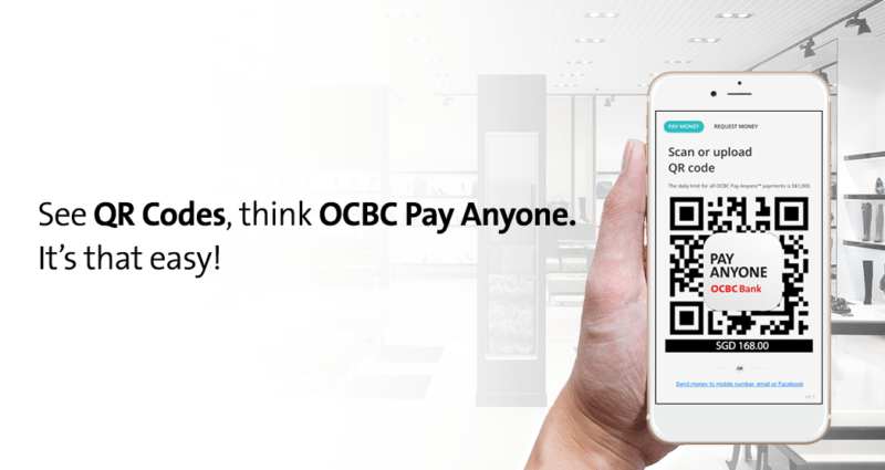 OCBC Pay Anyone banner