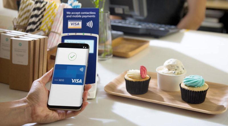 Visa Paywave via Samsung Pay
