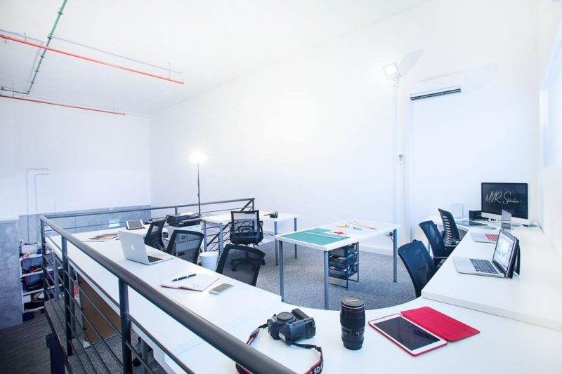 MVR studio coworking space singapore
