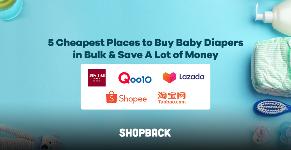 List of cheapest places to get baby diapers in Singapore