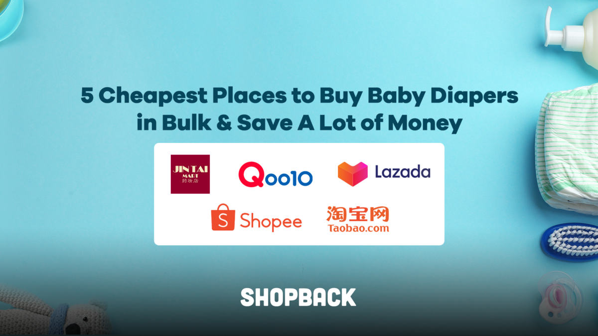 5 Cheapest Places to Buy Baby Diapers in Bulk & Save A Lot of Money