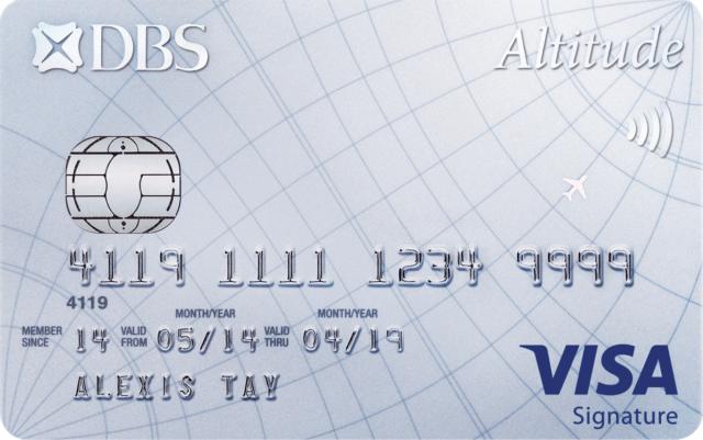 DBS Altitude Visa Signature Credit Card