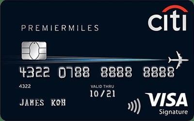 Citibank PremierMiles Visa Signature Card