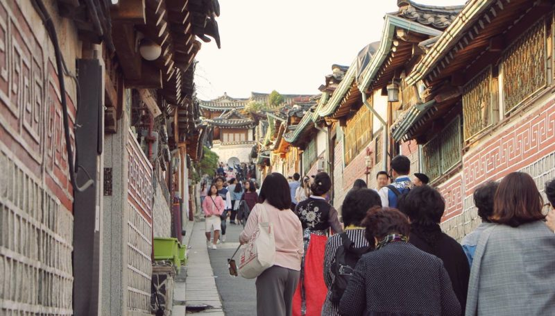Bukcheon Hanok Village in Seoul