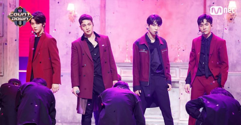 NU'EST W performing Where You At on Mnet M!Countdown