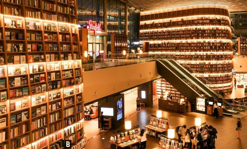 The Starfield Library at Starfield COEX Mall