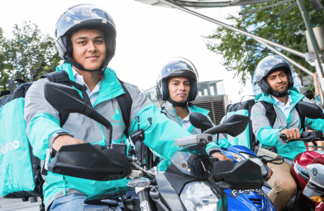 Delivery Drivers at Deliveroo