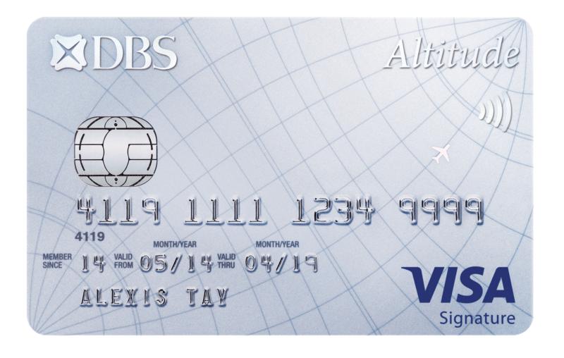 DBS Altitude Visa