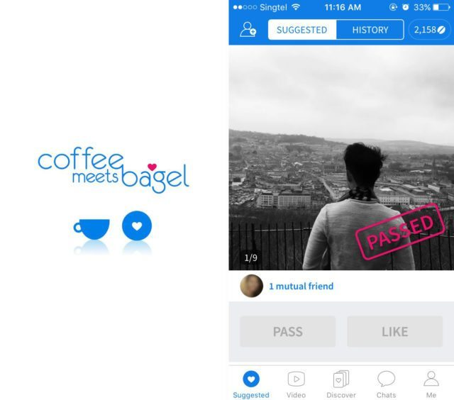 How does coffee meets bagel compare to other dating apps