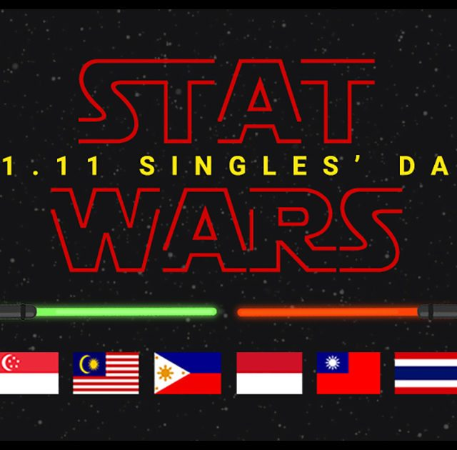 ShopBack stat wars Singles Day 2017 Shopping trends infographic