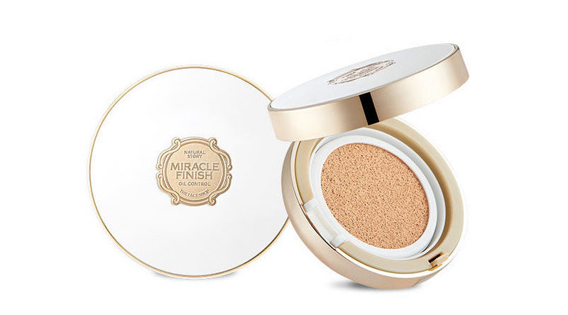 The Face Shop MIRACLE FINISH Oil Control Water Cushion