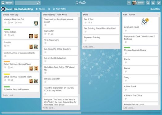 Time Management App Trello
