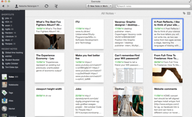 Time Management App Evernote
