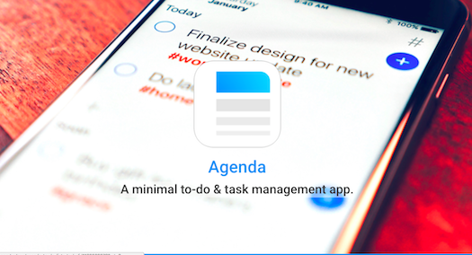 Time Management App Agenda
