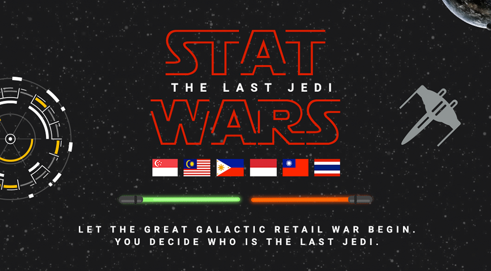 [INFOGRAPHIC] Stat Wars: The Last Jedi (12.12 & 2017 Retail Trends)