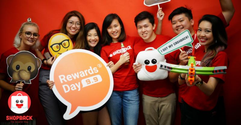 Shopback team in Singapore
