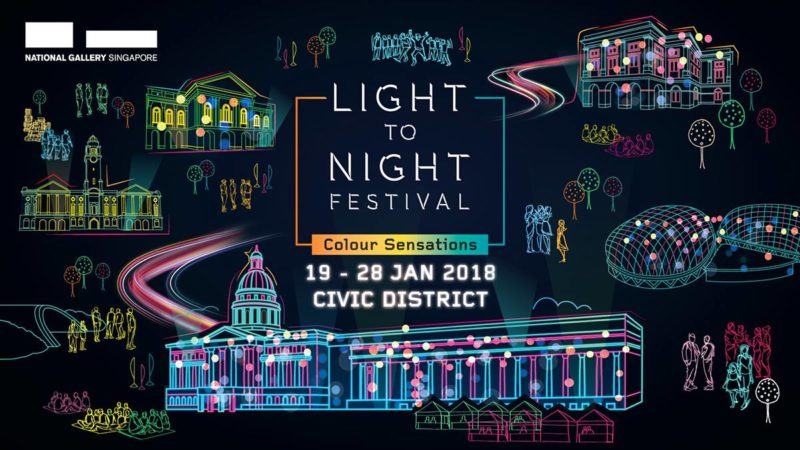 Light to Night Festival 2018: Colour Sensations
