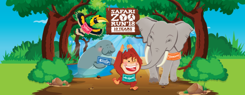 Safari Zoo Run Singapore 2018