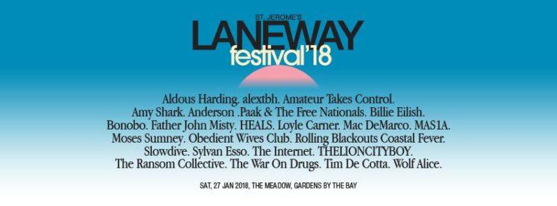 St Jerome's Laneway Festival Singapore 2018