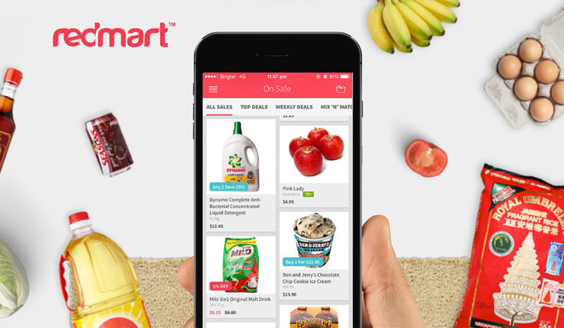 Redmart online groceries delivery in Singapore