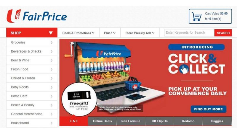 Ntuc online shopping delivery charges