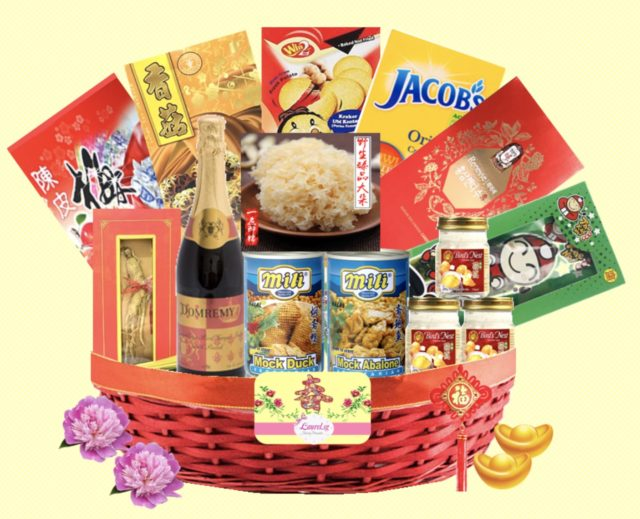 Vegetarian hamper Laurel SG CNY hamper 2018 under $100
