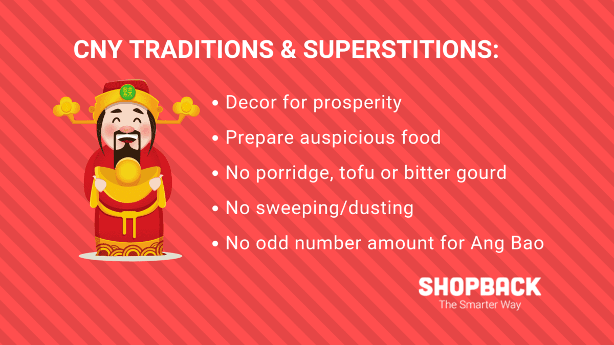 CNY 101: Superstitions and Unusual Traditions For a Prosperous Year