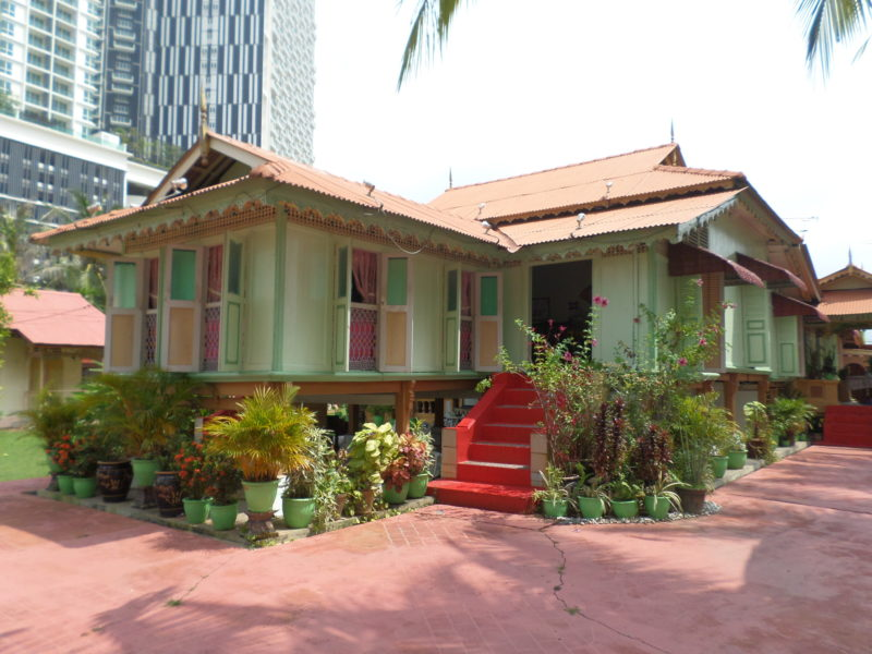 View of Villa Sentosa, a historical site of Melaka
