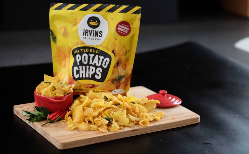 Best salted egg chips in singapore and where to find them for Salted egg fish skin