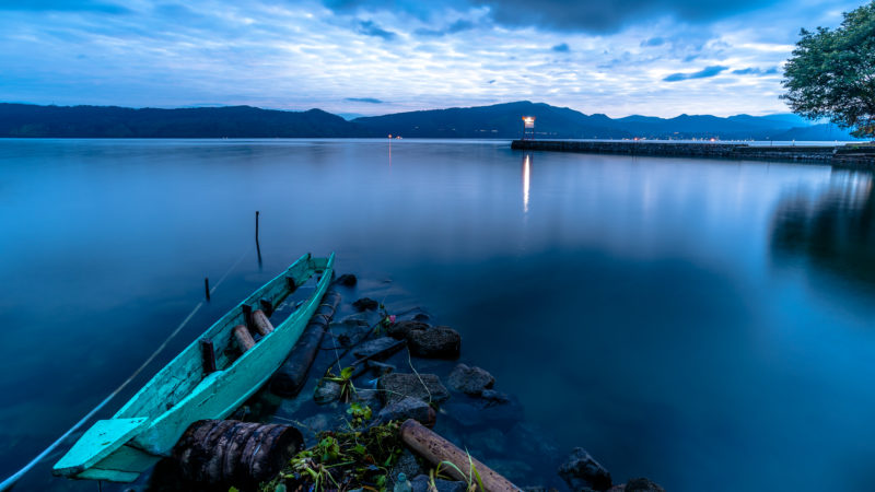 Lake Toba in Indonesia
