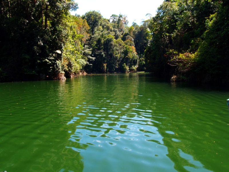 The beautiful Kenyir Lake in Malaysia