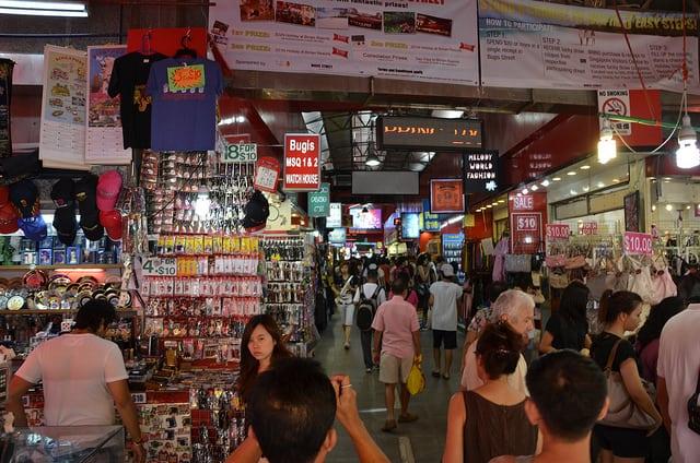 Bugis street market