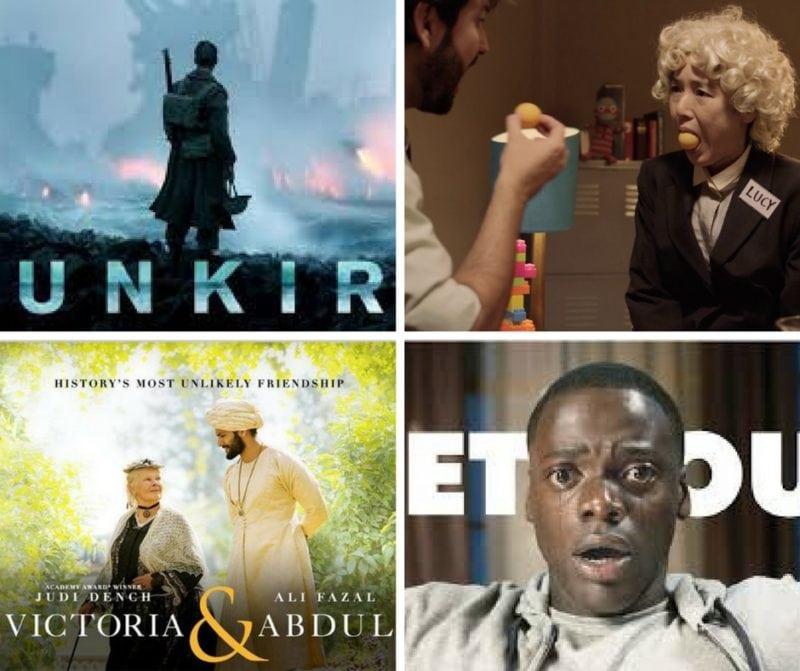 Nominated movies Oscar 208
