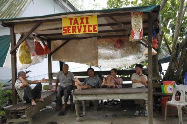 primitive taxi service