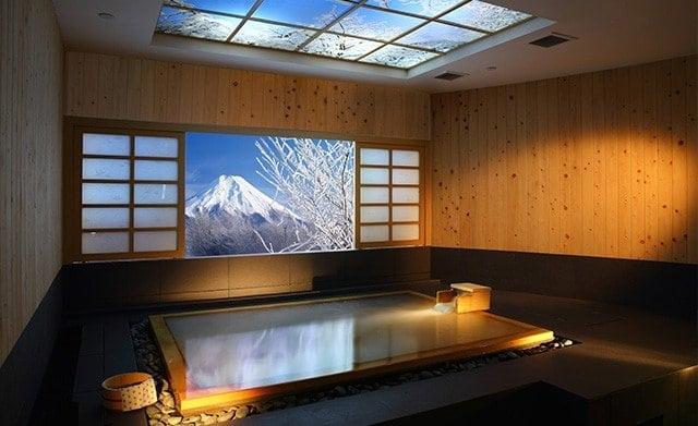Public onsen bath